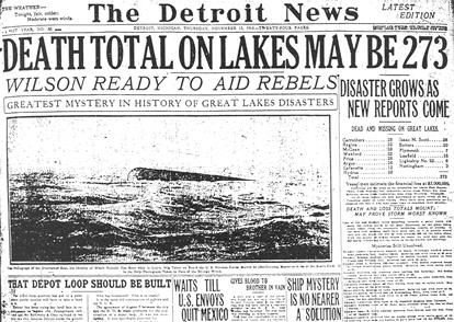 Great Lakes Storm 1913