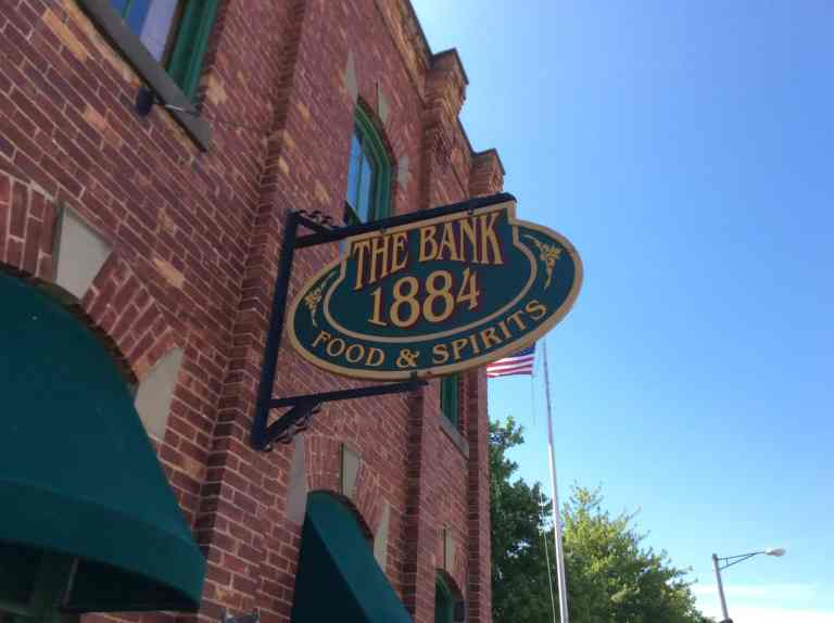 The Bank 1884 Food and Spirits, Port Austin Michigan