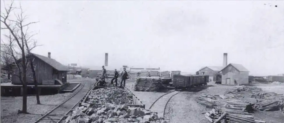 Crawford's Saw Mill Caseville 1880's