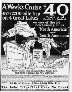 Ad for Great Lakes Cruises