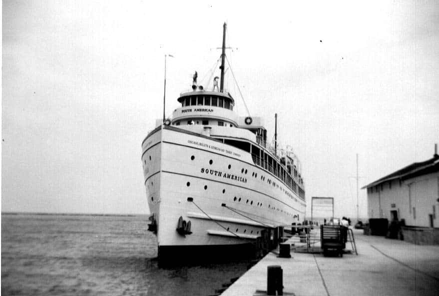 SS South American at Dock