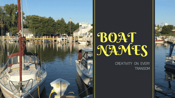 Transom Charm –  What's In a Name