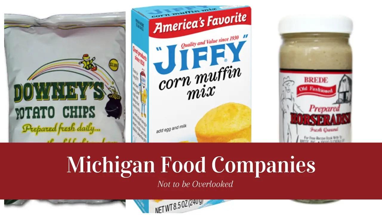 Michigan Food Companies