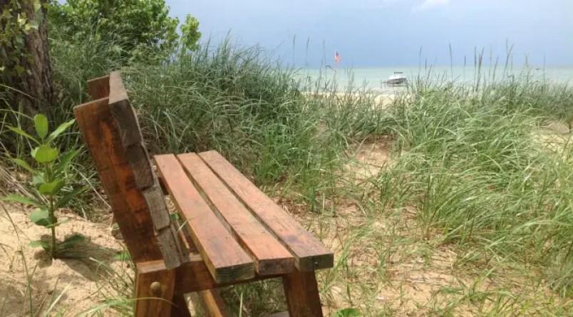 Michigan Beach on Saginaw Bay