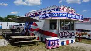 Gibby's Fries Stand at the Fair