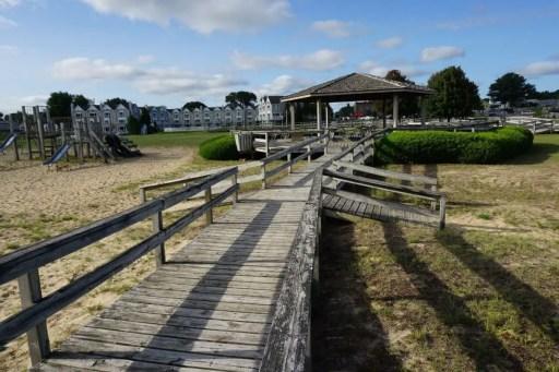 Boardwalk at Bird Creek Park Port Austin