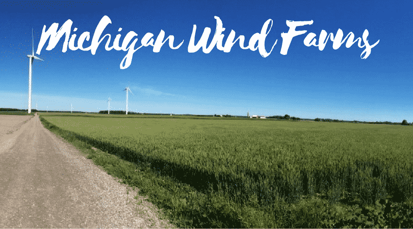 Michigan Wind Farm Map Active And Planned Wind Projects