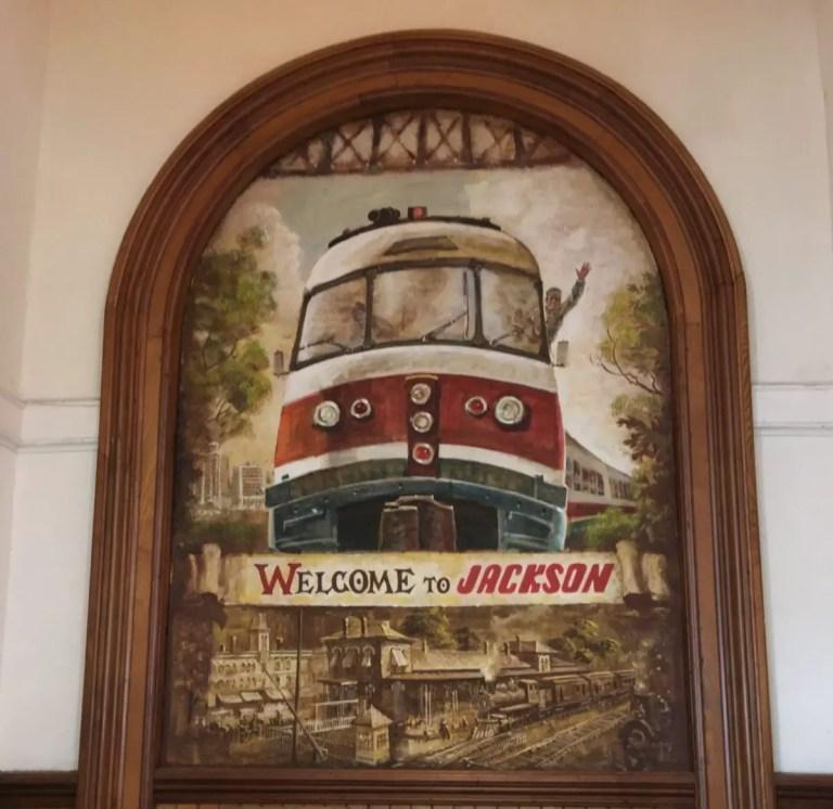 Jackson Train Station