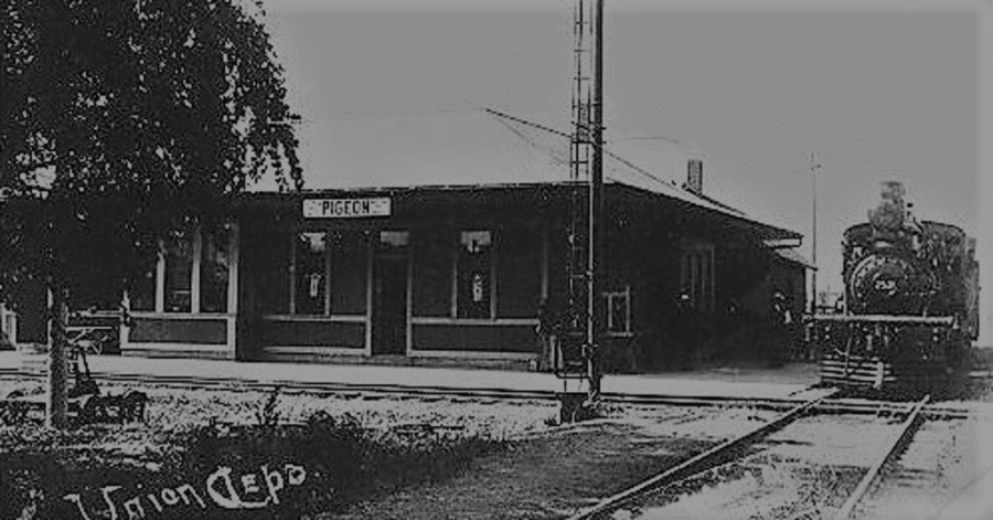 Pigeon Michigan Depot