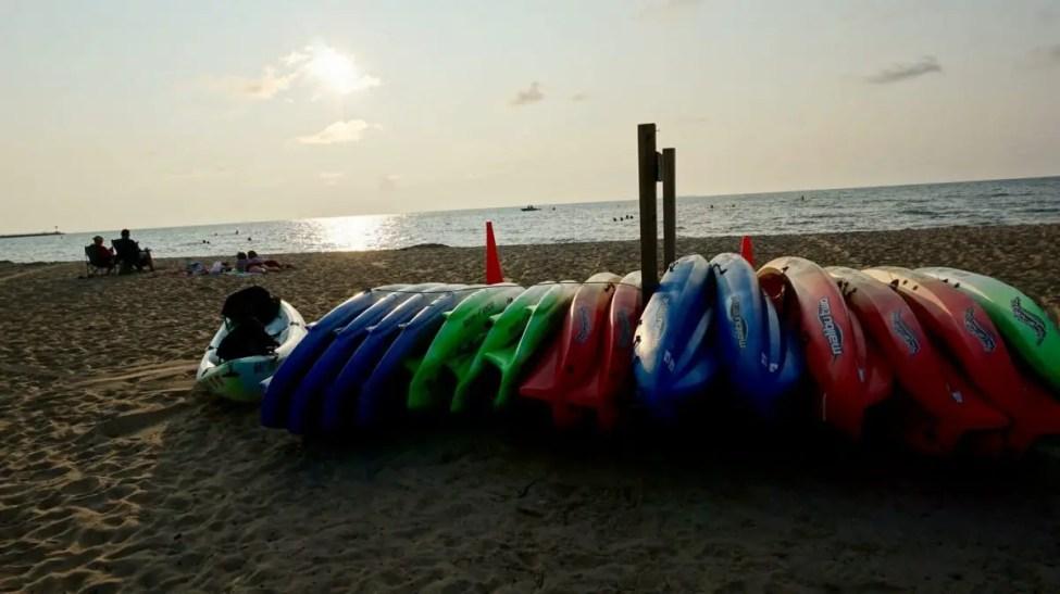 Caseville Beach Kayaks