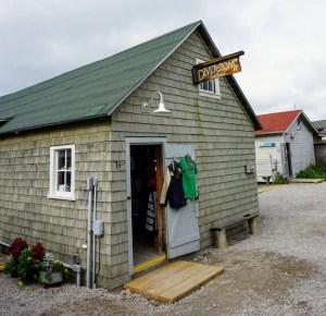 Fishtown Shop - Fishtown Shop in Leland Michigan. Many small craft an artist studio shops along the dock.