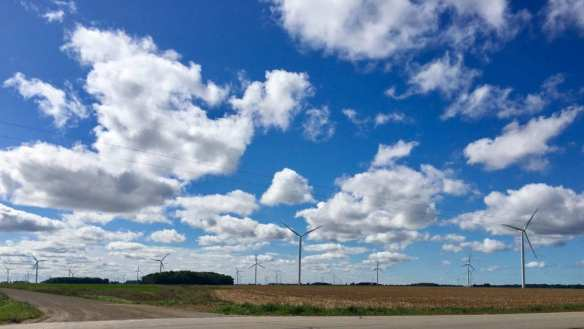 Wind Farm in Michigan's Thumb -  Wind Energy Development