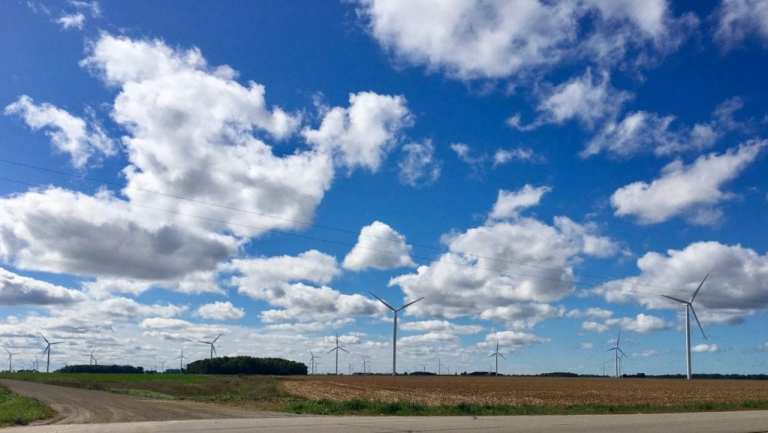 Wind Farm in Michigan's Thumb -  Wind Energy Development