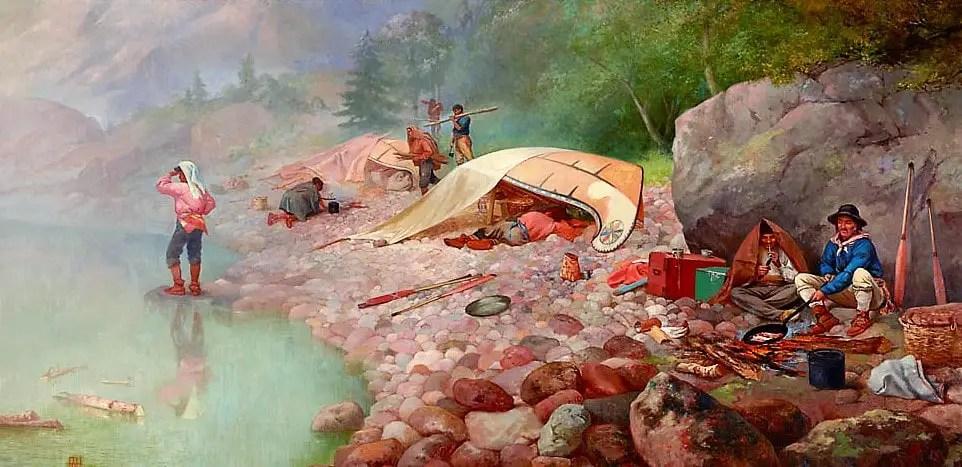 """""""Voyageurs at Dawn"""""""