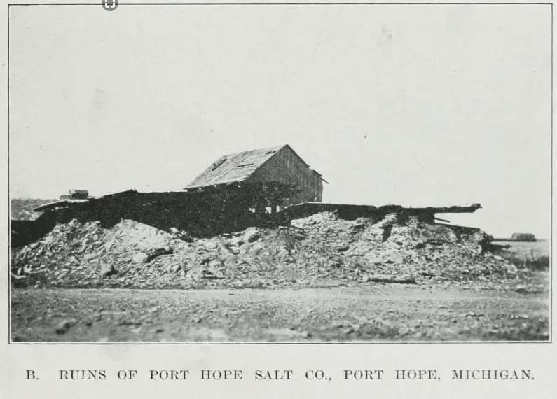 Ruins of Port Hope Salt Company