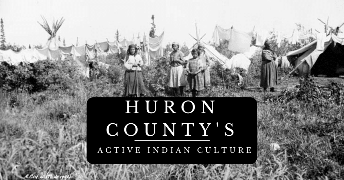 Huron County Michigan's Indian Villages