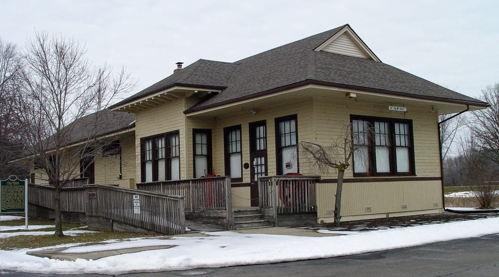 Capac Depot - Front