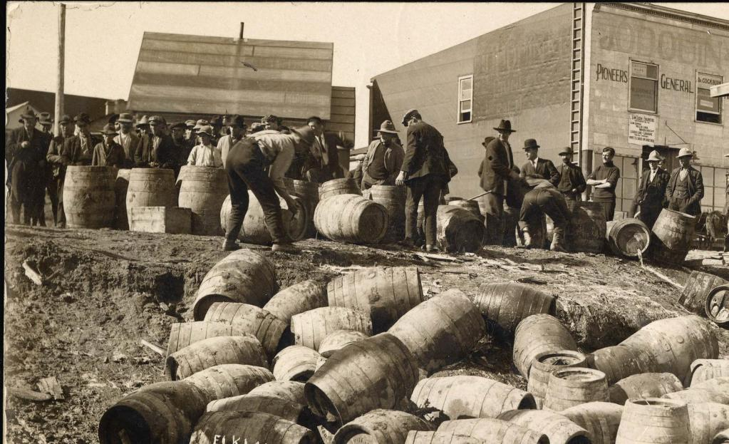 Seizing Booze During Michigan Prohibition