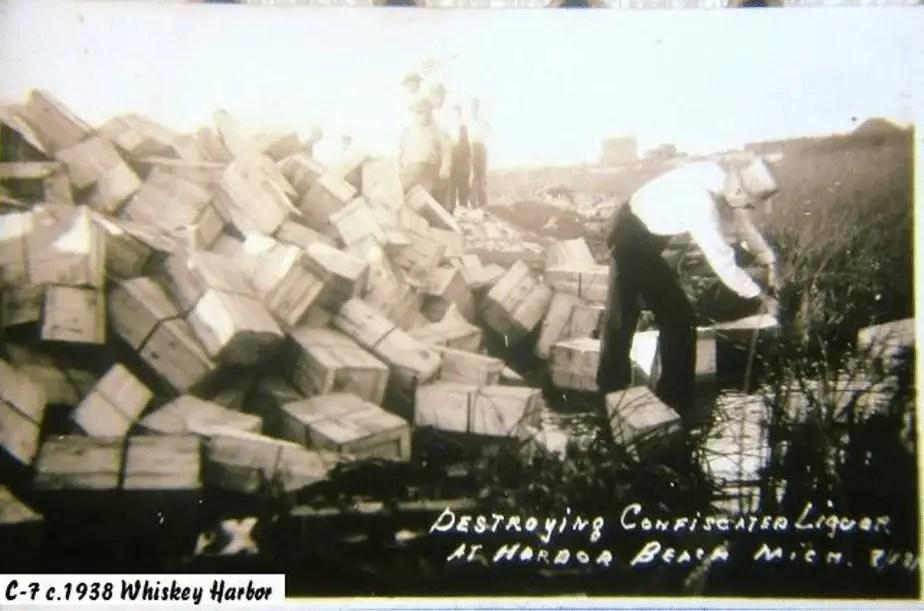 Whiskey Harbor - Michigan Prohibition