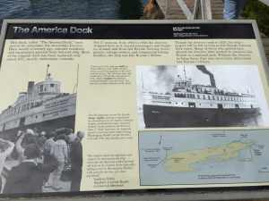History of the American Dock Sign