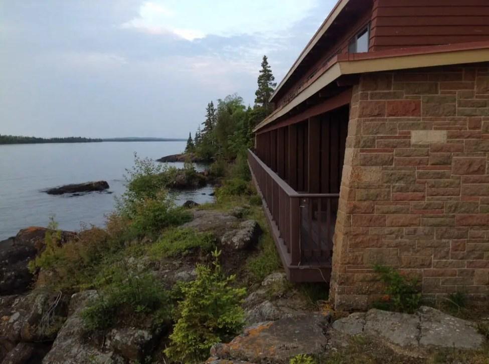 Rock Harbor Lodge at Isle Royale National Park