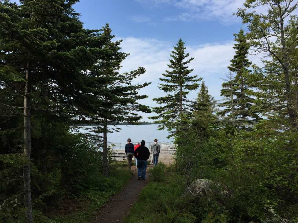 Stroll Down to America Dock at Isle Royale National Park