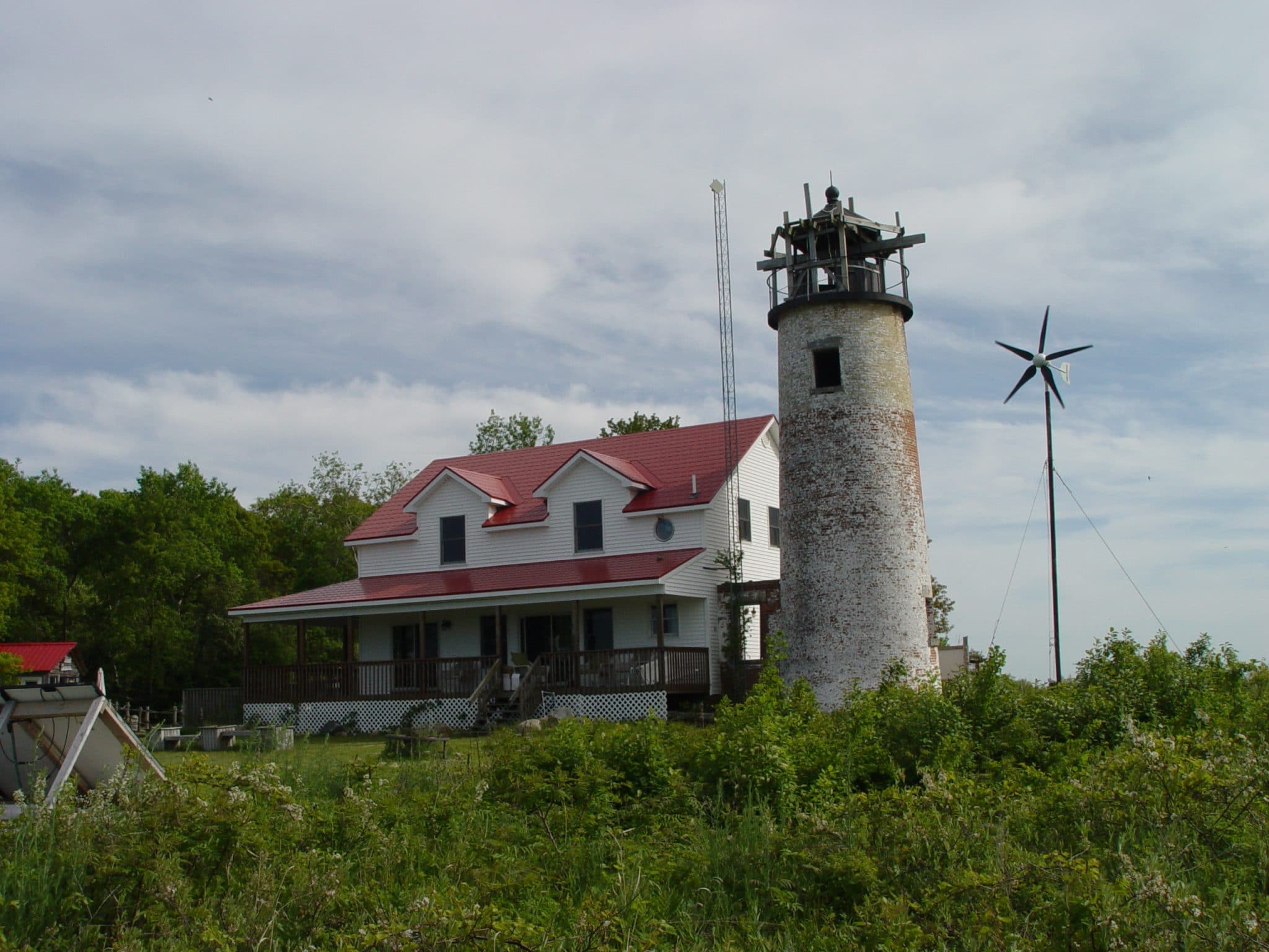 Charity Island Lighthouse - Michgan Tourist Attractions