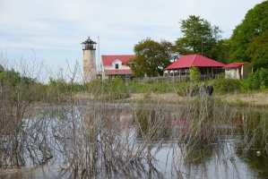 Michigan Lighthouses - Charity Island Light