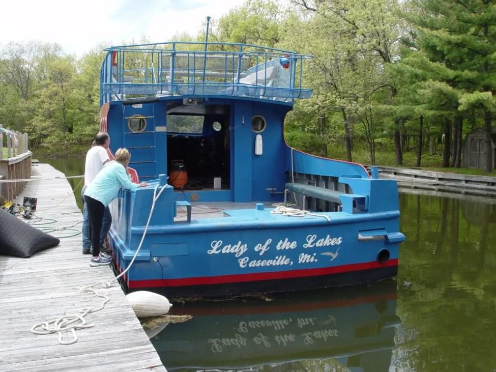 Charity Island Tour Boat