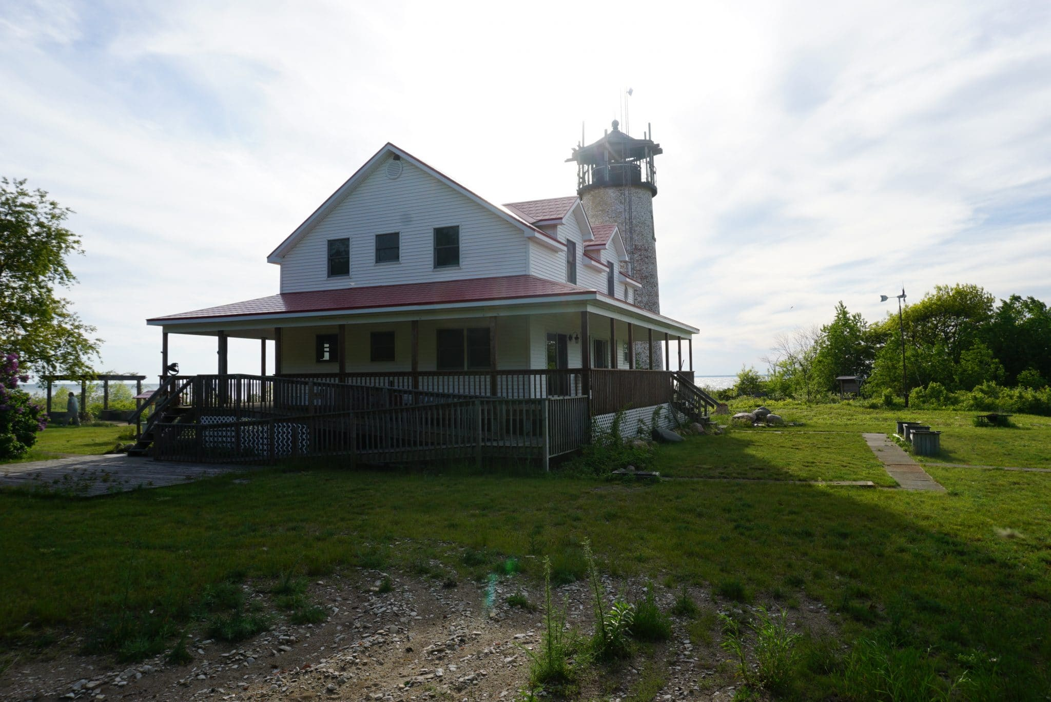 Charity Island Lightkeepers House