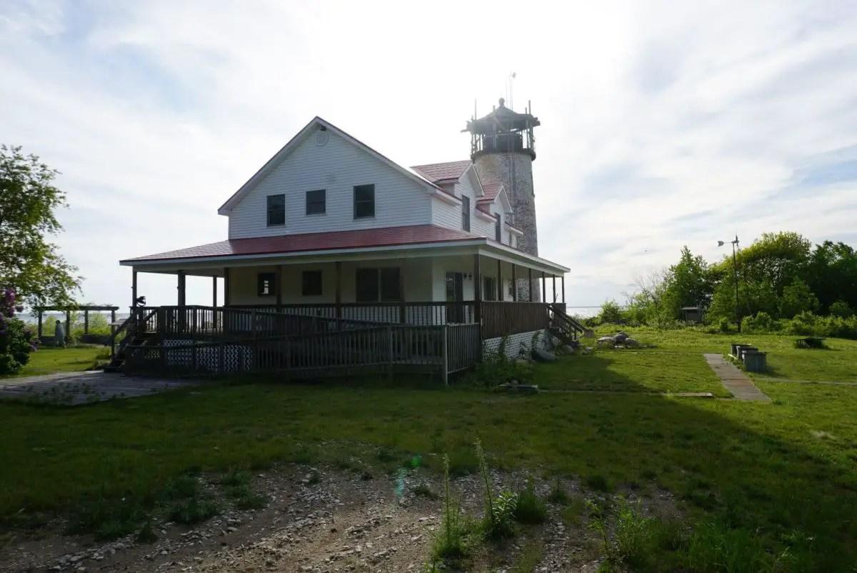 Charity Island Lightkeepers House