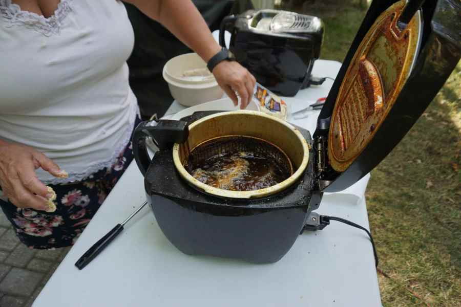 Deep Frying Walleye