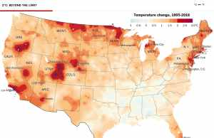 Climate Change Hot Spot Map