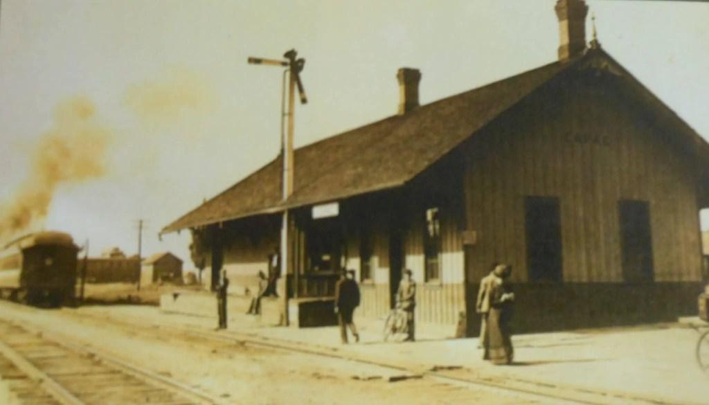 Capac Depot Before 1914