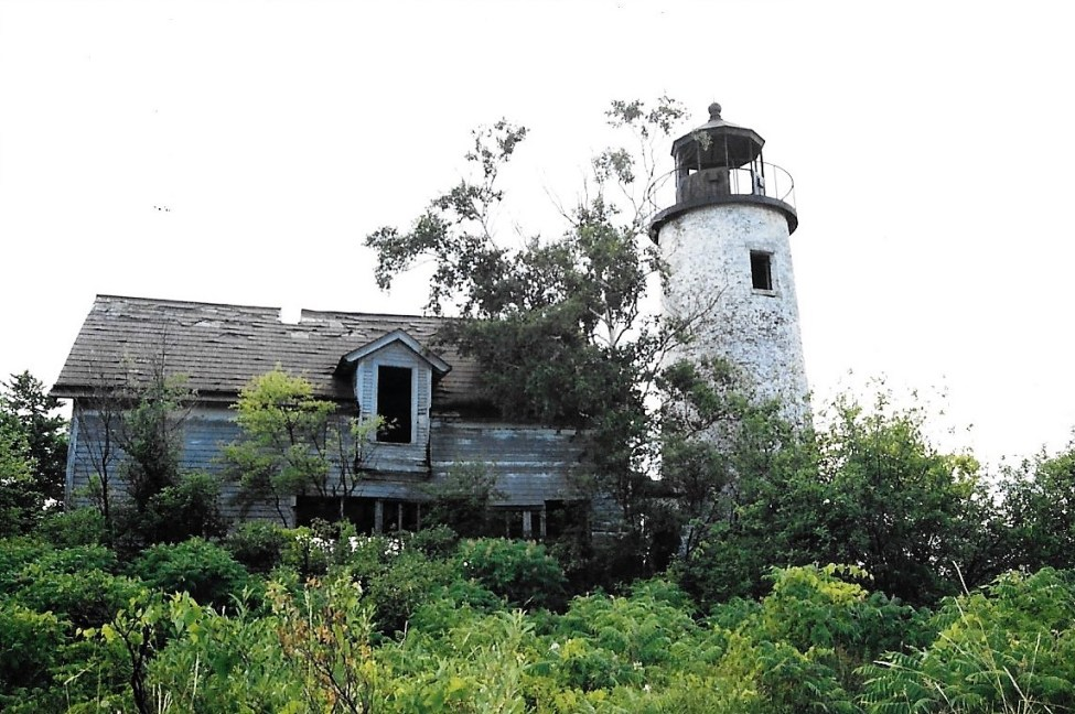 Charity Island Lighthouse Ruins 1993