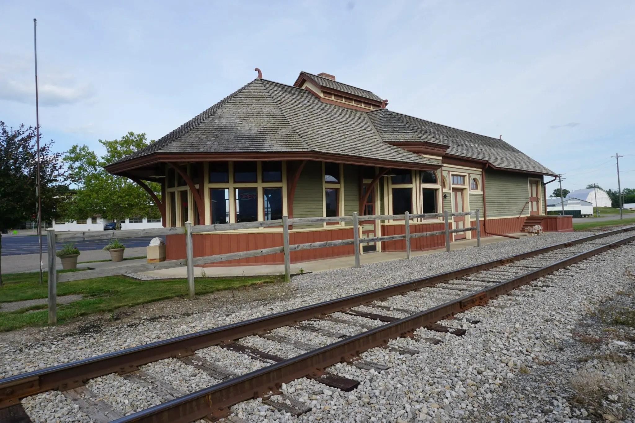 Marlette Depot Tracks