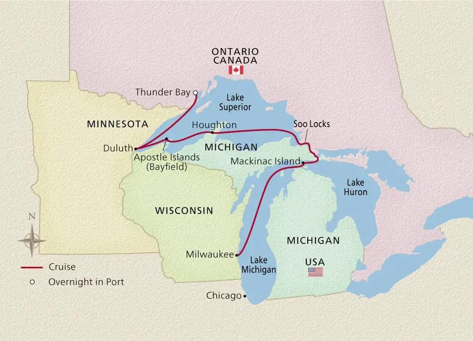 Viking Great Lakes Cruises