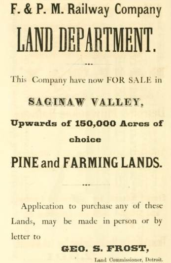 Land Advertisement - Library of Congress