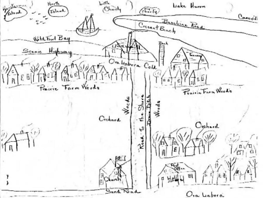 Sketch of the Ora et Labora Colony
