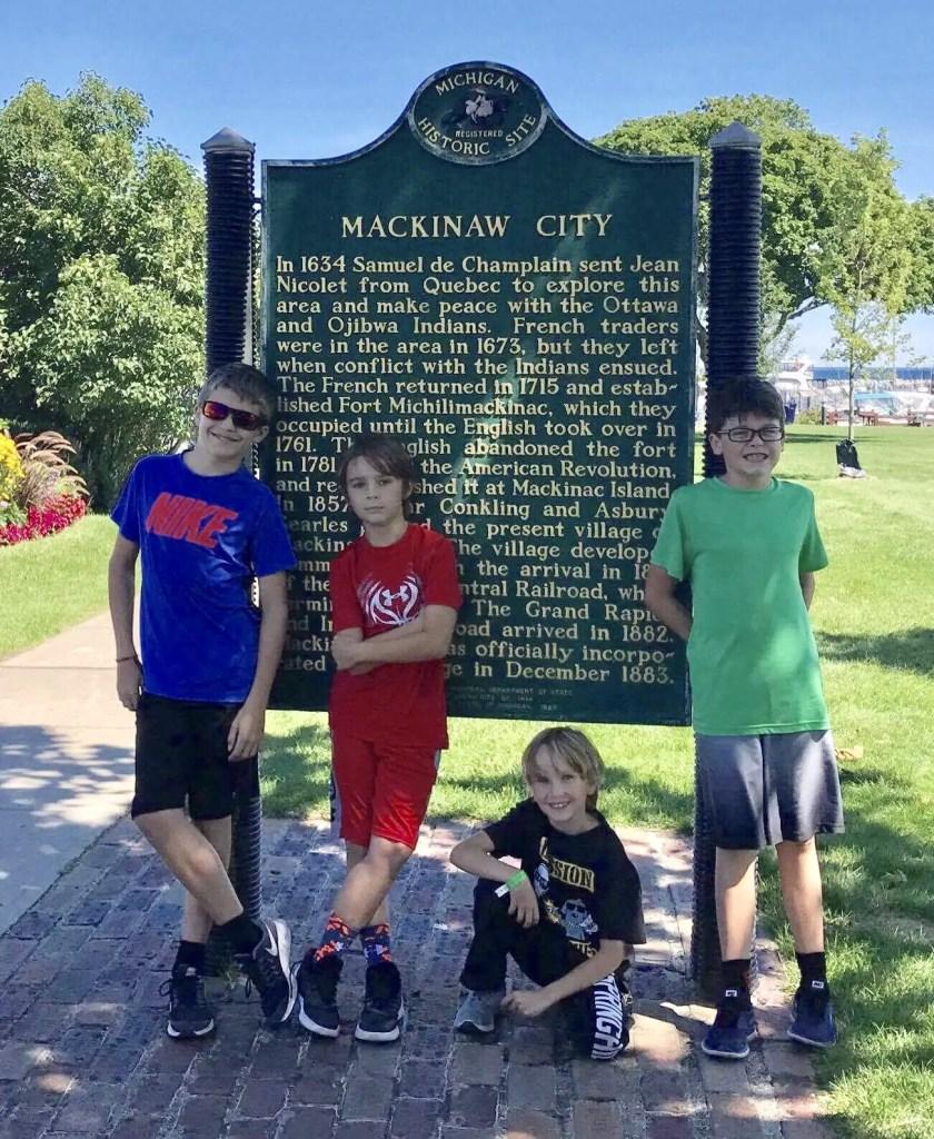 Michigan Historical Marker