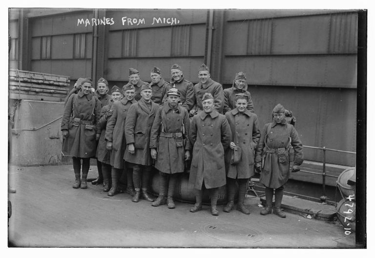 WWI American Marines from Michigan