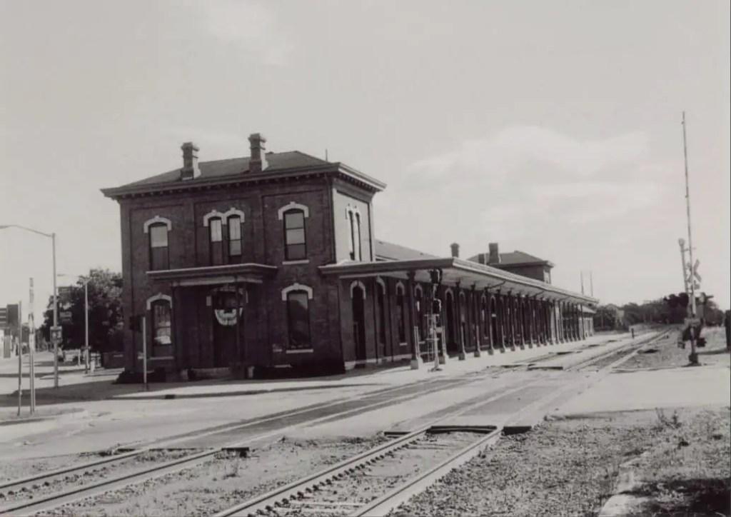 Jackson's Michigan Central Depot