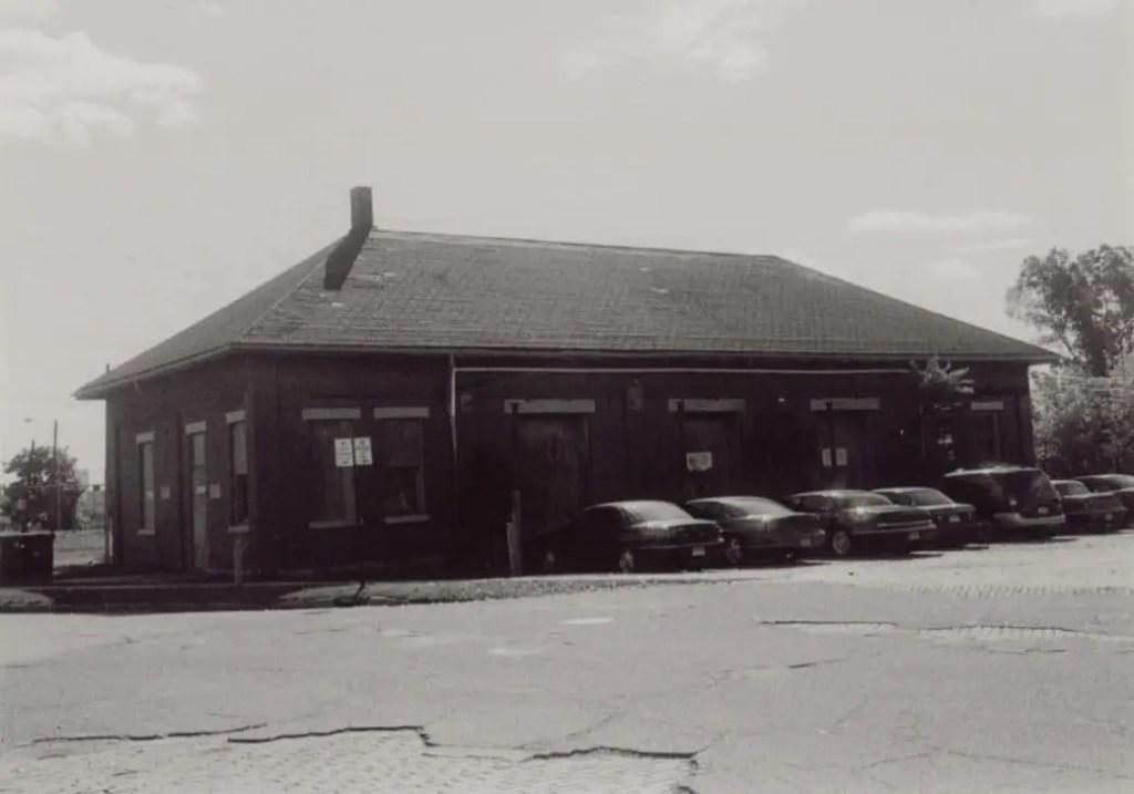Jackson's Michigan Central Depot Express Building