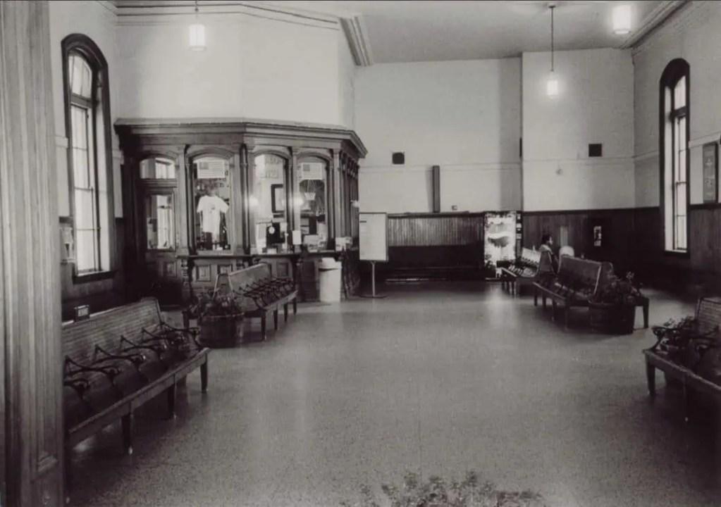 Jackson's Michigan Central Depot Lobby