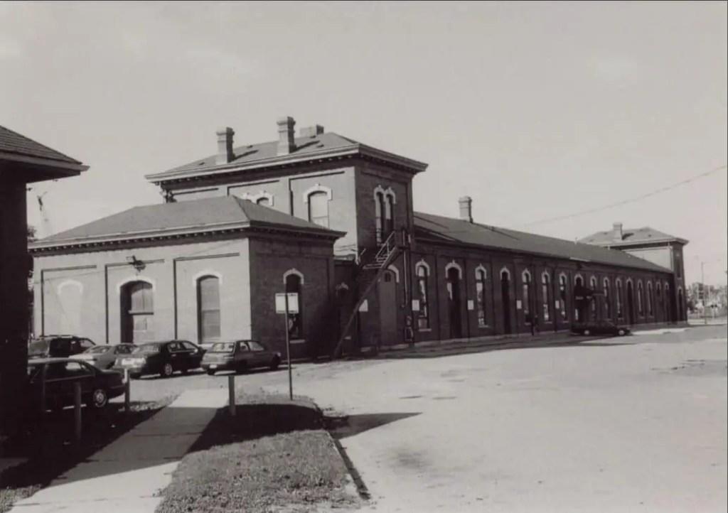 Jackson's Michigan Central Depot Looking North