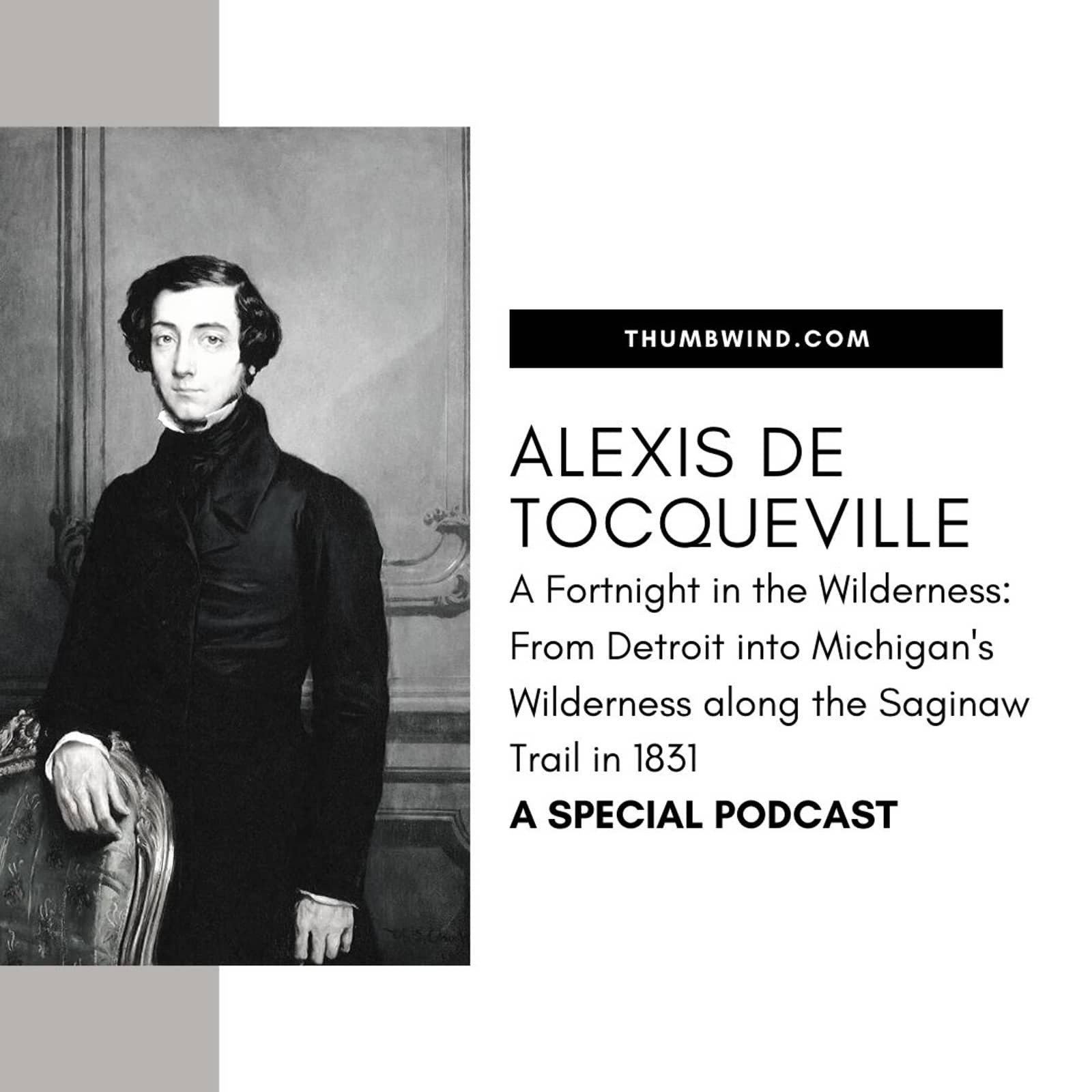Fortnight In The Wilderness Alexis De Tocqueville