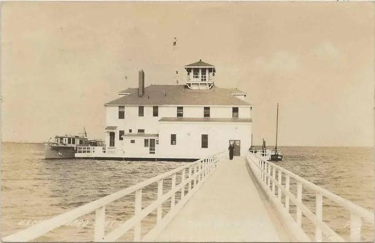 Coast Guard Station Sand Beach c1920
