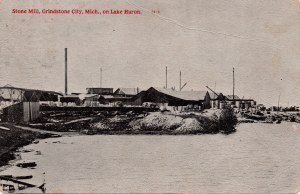 Stone Mill at Grindstone City c1900