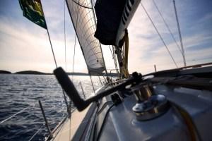 Sailing Port Tack