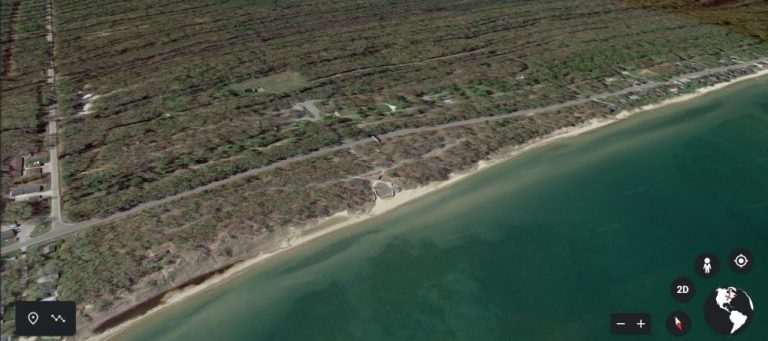 Sleeper State Park From Google Earth